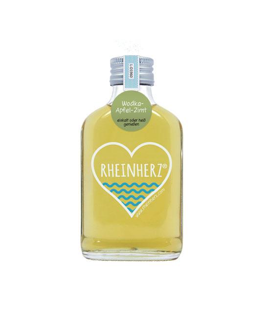 Rheinherz Wodka-Apfel-Zimt 100ml Flasche Likör Koeln