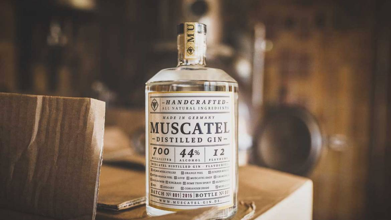 Muscatel Gin – Handcrafted in Mainz am Rhein