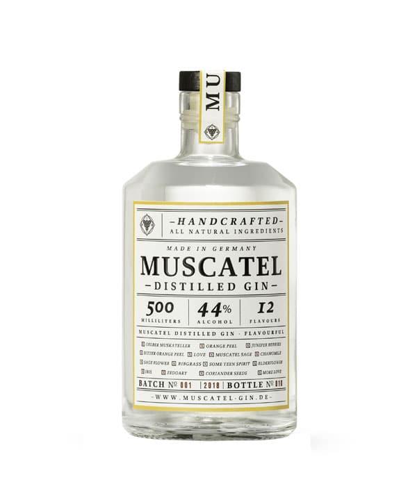 Muscatel Gin 0,5L Flasche kaufen Rheinspirits