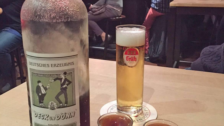 """Kölner Brauhausschnäpse Teil 1: Kräuterschnaps """"Deck un Dönn"""""""