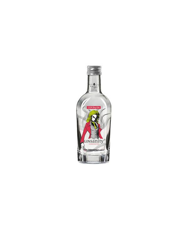 Ginsanity Gin Mini 50ml Flasche