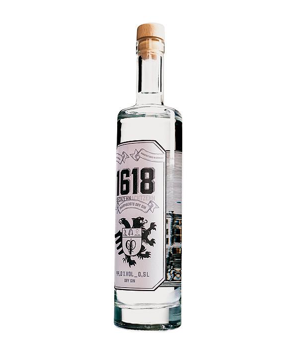 1618 Gin 0,5L Flasche Rheinspirits Koeln