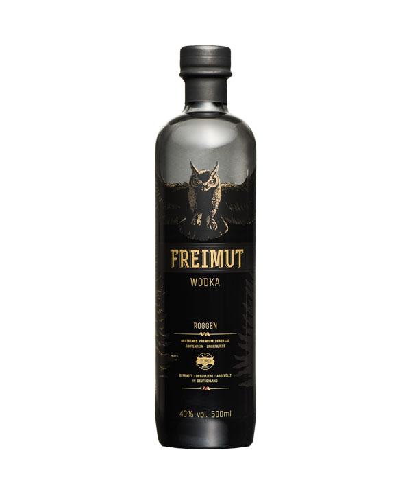 Freimut Wodka Bio 0,5L Flasche Rheinspirits