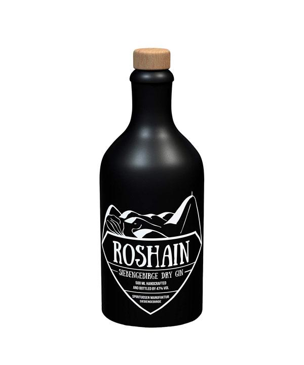 Roshain Gin Roshain Dry Gin Königswinter Rheinspirits Köln