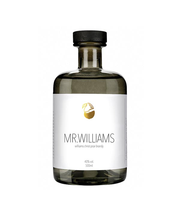 Mr. Williams Christ Bonn Pear Brandy 0,5L Flasche Rheinspirits Köln