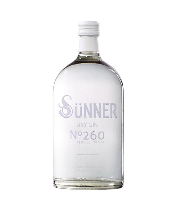 Suenner Dry Gin No. 260 Sünner Dry Gin No 260 0,7L Flasche