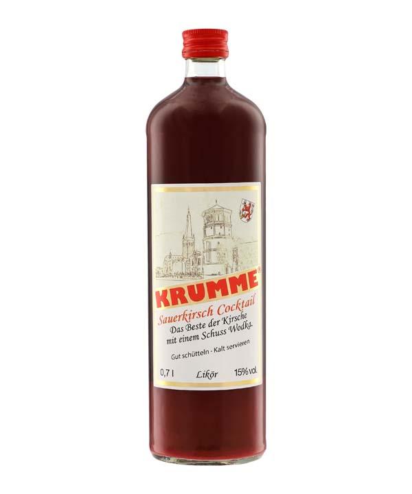 Krumme Sauerkirsch Likör 0,7L Flasche Rheinspirits