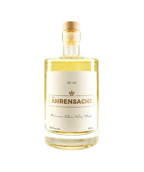 Brennfreunde Ährensache Korn 0,5L Flasche Spirituosen Düsseldorfer Korn