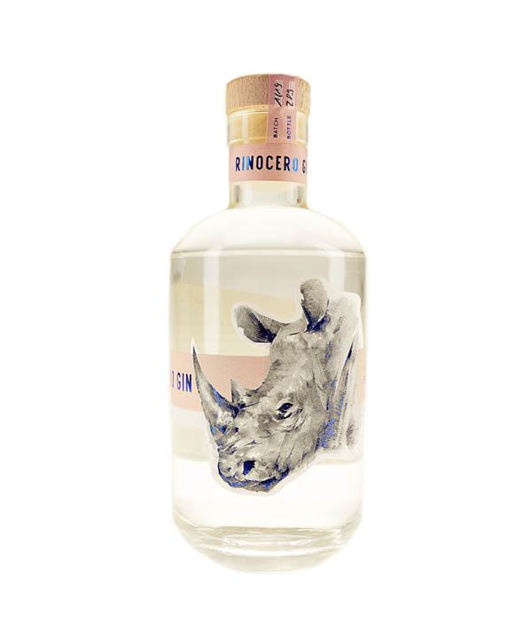 Rinocero Gin 0,5L Flasche Brennfreunde Düsseldorfer Gin