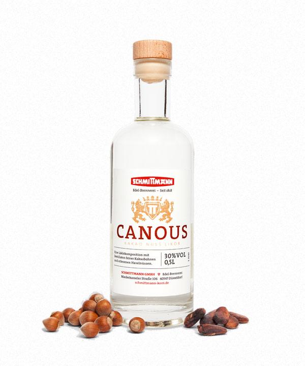 Canous Kakao-Nuss-Likör Schmittmann Rheinspirits Likör Düsseldorf kaufen