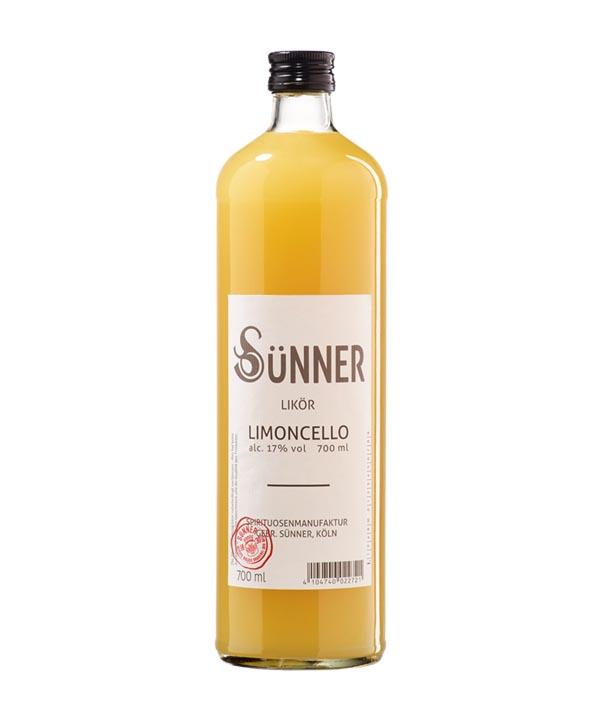 Suenner Limoncello Rheinspirits Kölner Likör 0,7L Flasche