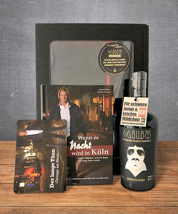 Miljö Geschenkbox Buch Wenn es Nacht wird in Köln