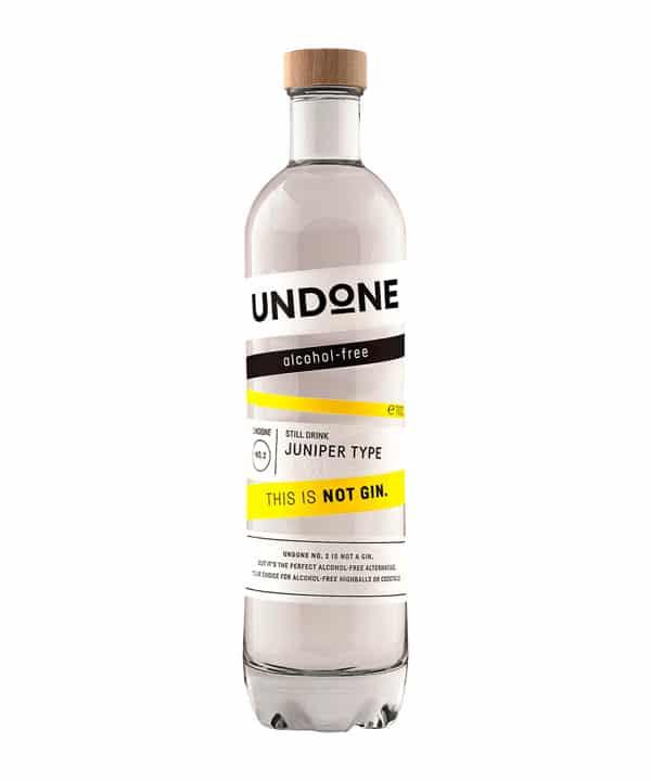 Undone No 2 Juniper Type Alkoholfreier Gin