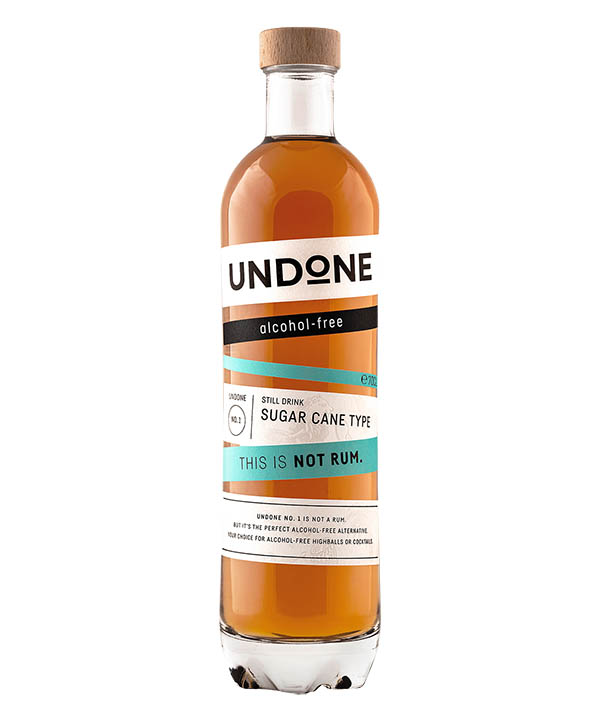 Undone No 1 Sugarcane Type Alkoholfreier Rum