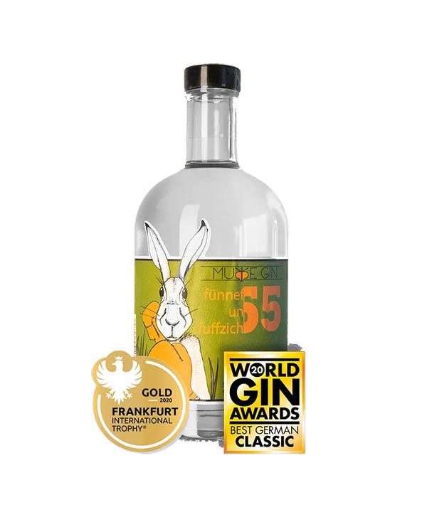 Murre Gin Fünnefunfuffzich Navystrength Gin 55