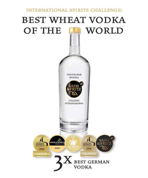 Sash & Fritz Wodka kaufen