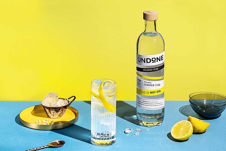 Undone alkoholfreier Gin